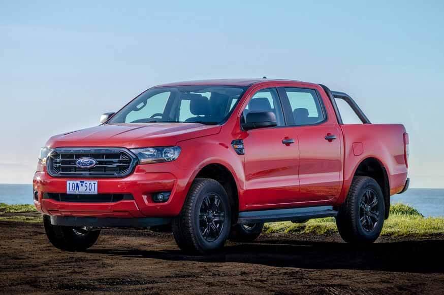 Новый Ford Ranger появится в 2022 году, он станет перезаряжаемым гибридом.