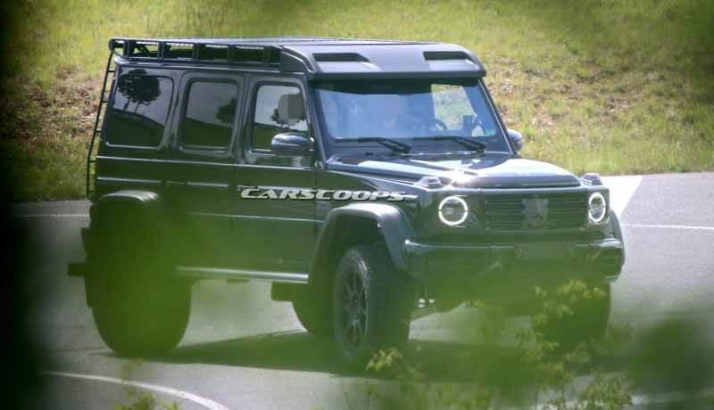 Экстремальный Mercedes-Benz G-Class. Фото Carscoops.com