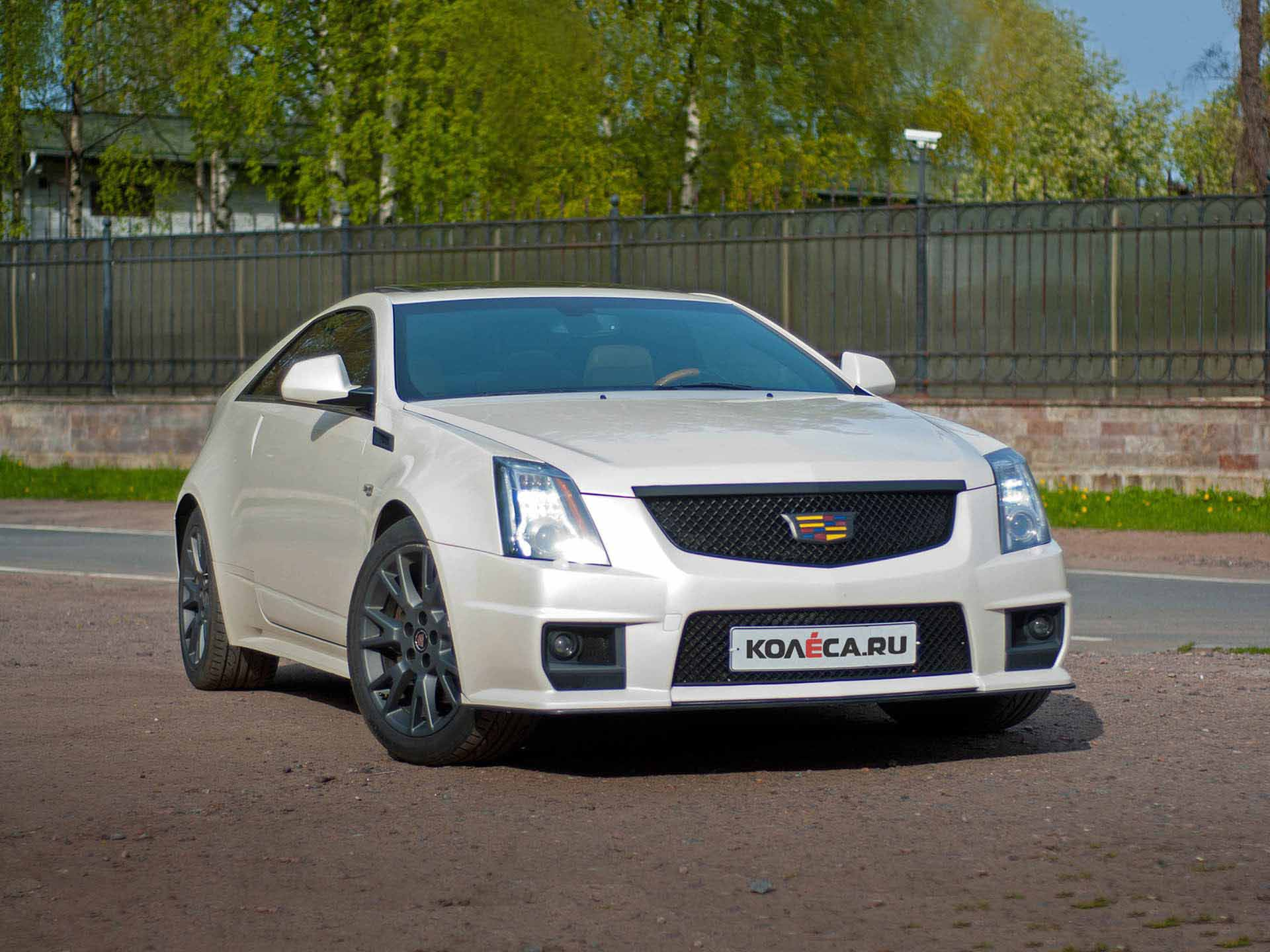 Cadillac CTS Coupe Опыт