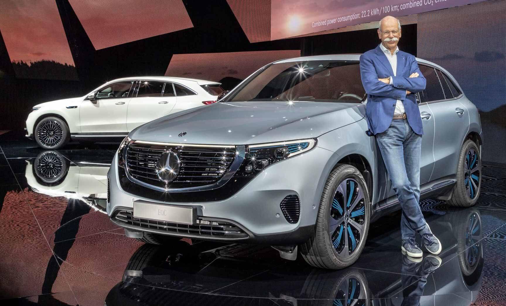 Когда-то EQC Mercedes-Benz 'Tesla Killer' продал менее 700 с момента запуска: отчет