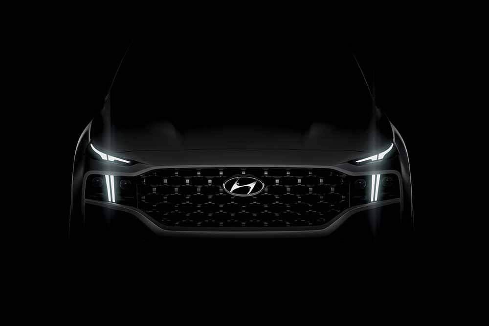 Hyundai опубликовал первые фотографии нового Hyundai Santa Fe