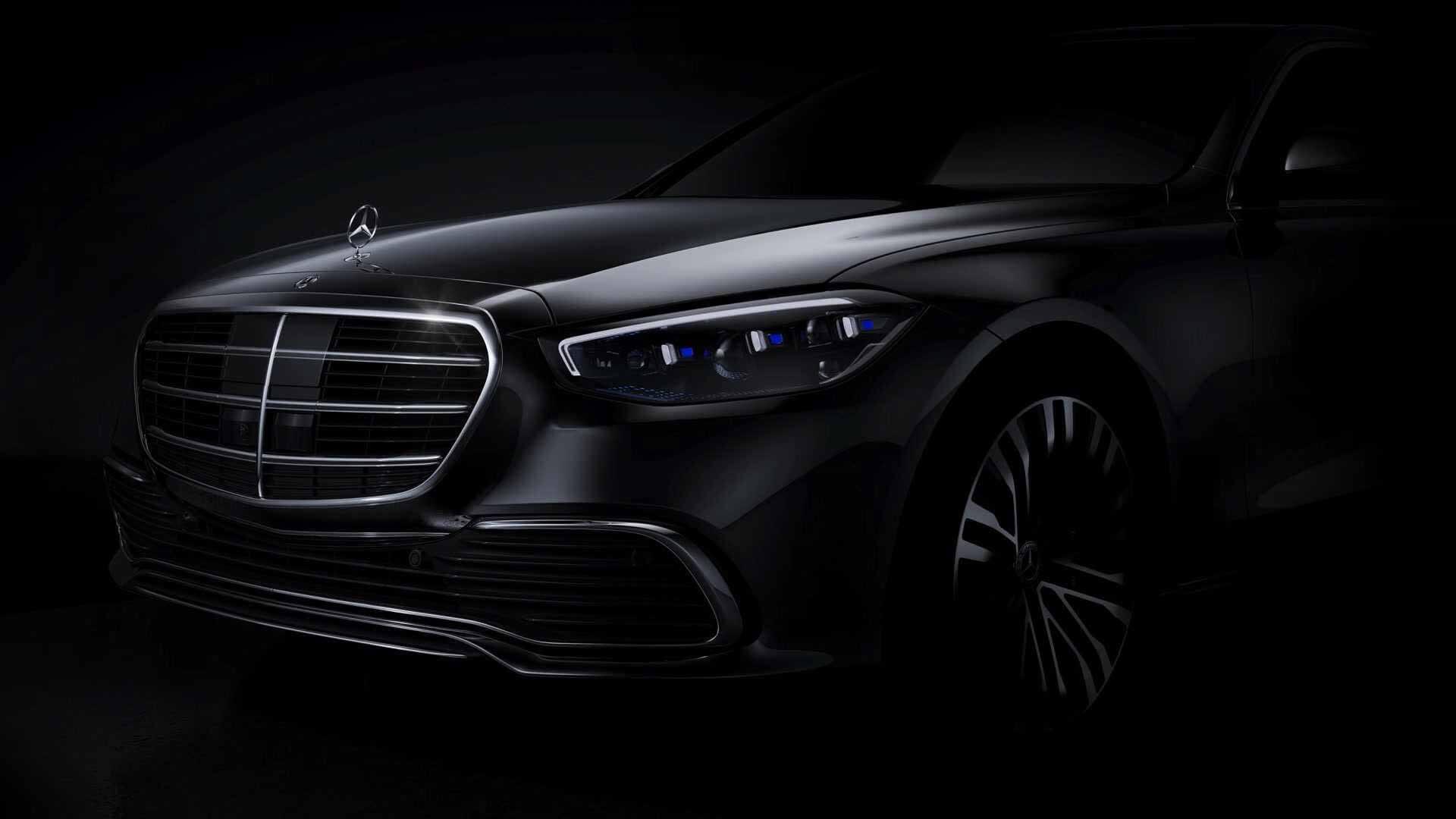 Mercedes-Benz показал первое изображение нового S-класса