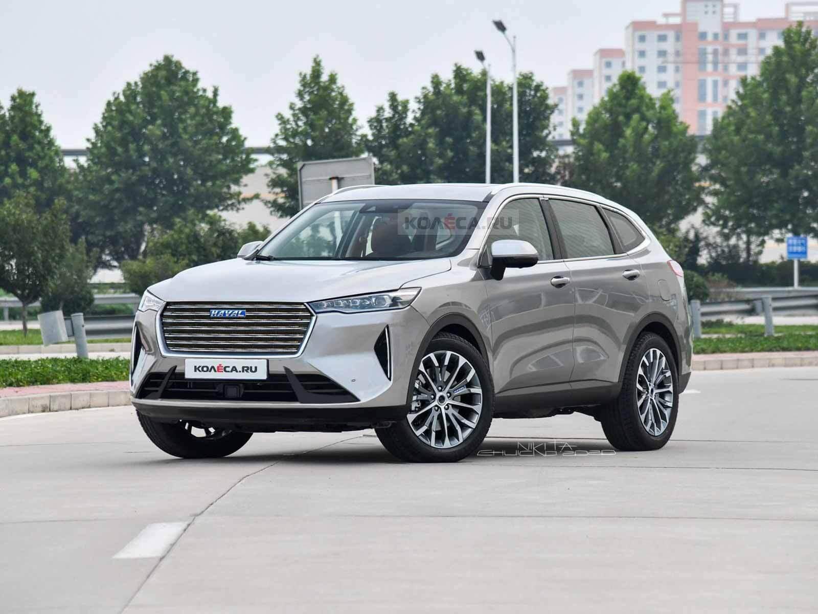 Новый Haval H6 2021 - Kolesa.ru - автомобильный журнал
