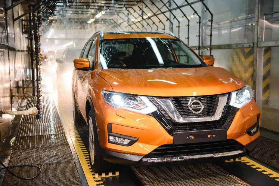 Петербургский завод Nissan остановит конвейер на три недели