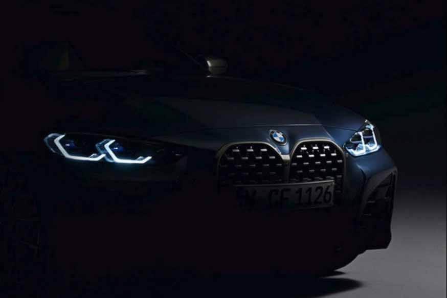 Серийный «четыре» BMW нового поколения выделил «суперноздры» на официальном фото