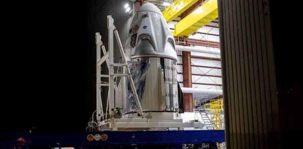 SpaceX Crew Dragon присоединяется к Falcon 9 в качестве финального помощника перед дебютом космонавта