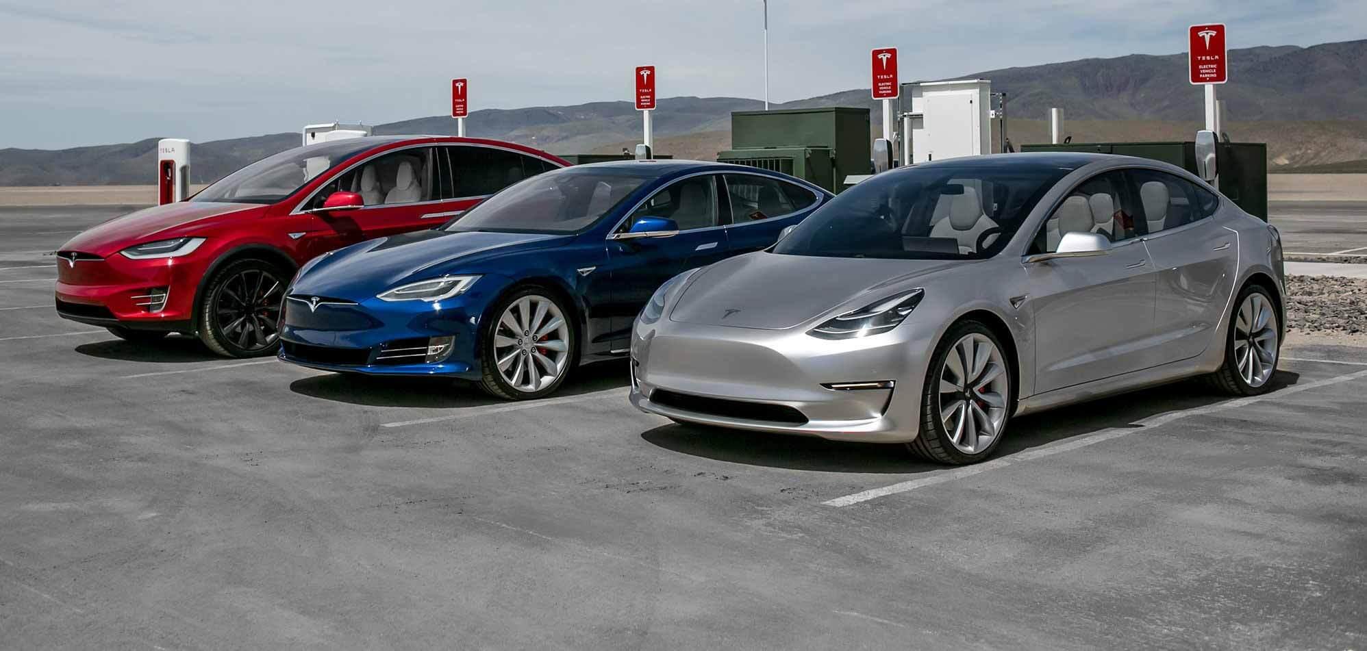 Тесла снижает цены на модели S, Model 3 и Model X в преддверии предстоящих этапов работы батареи