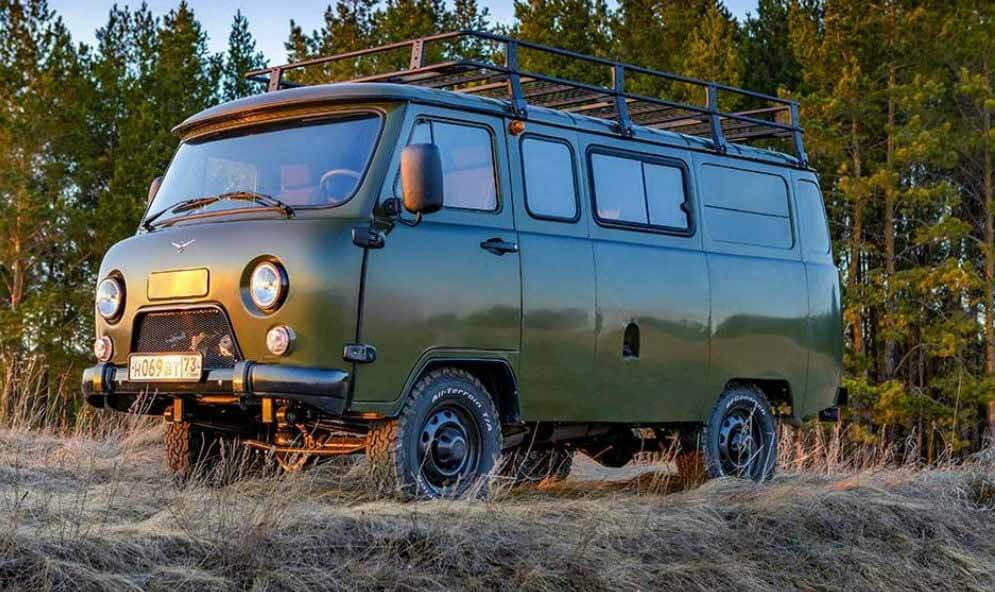 УАЗ «Буханка» стал самым популярным автомобилем в Казахстане