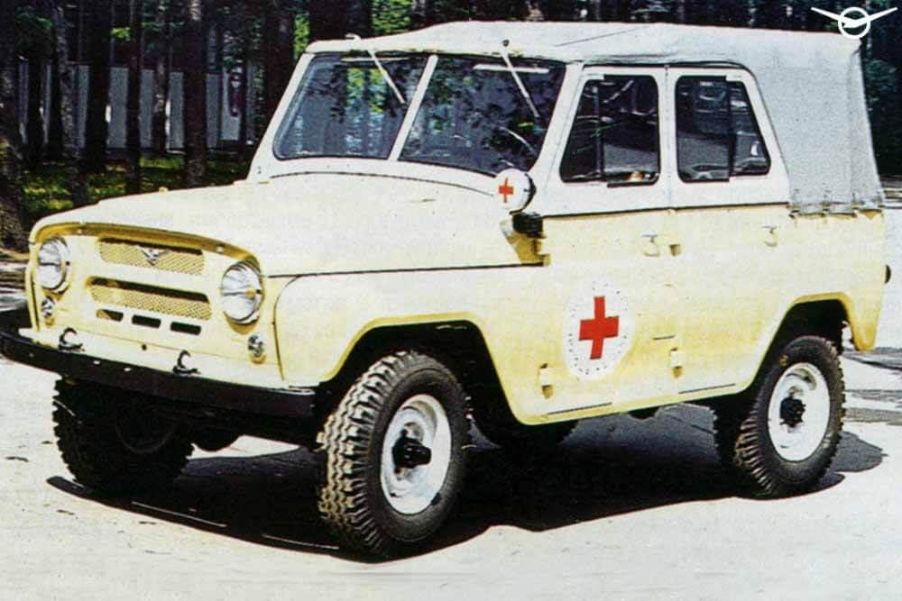 УАЗ вспомнил медицинскую версию УАЗ-469