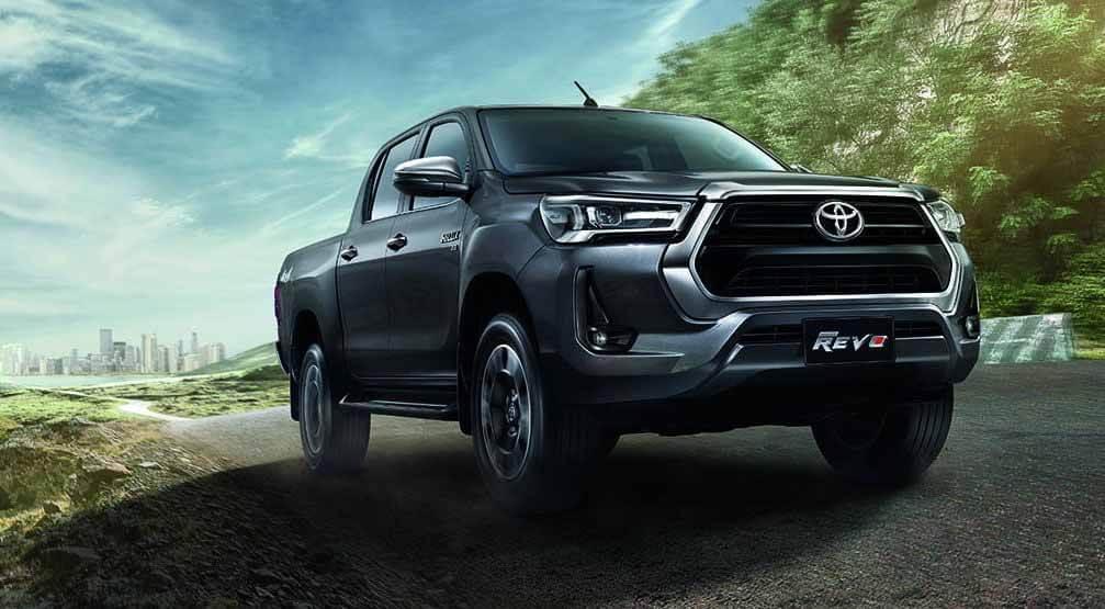 Toyota представила обновленный пикап Toyota Hilux