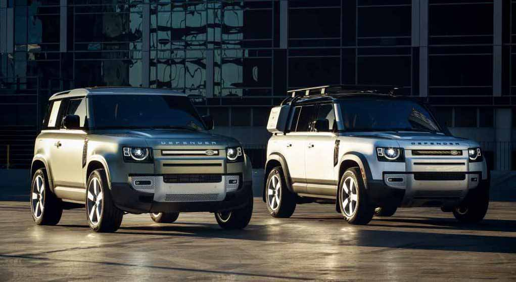 Land Rover Defender. Фото Jaguar Land Rover