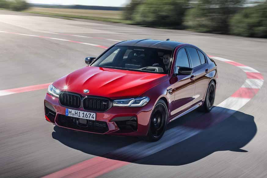 BMW обновил М5: новая цифровая «приборка» и лазерные фары, а двигатель такой же