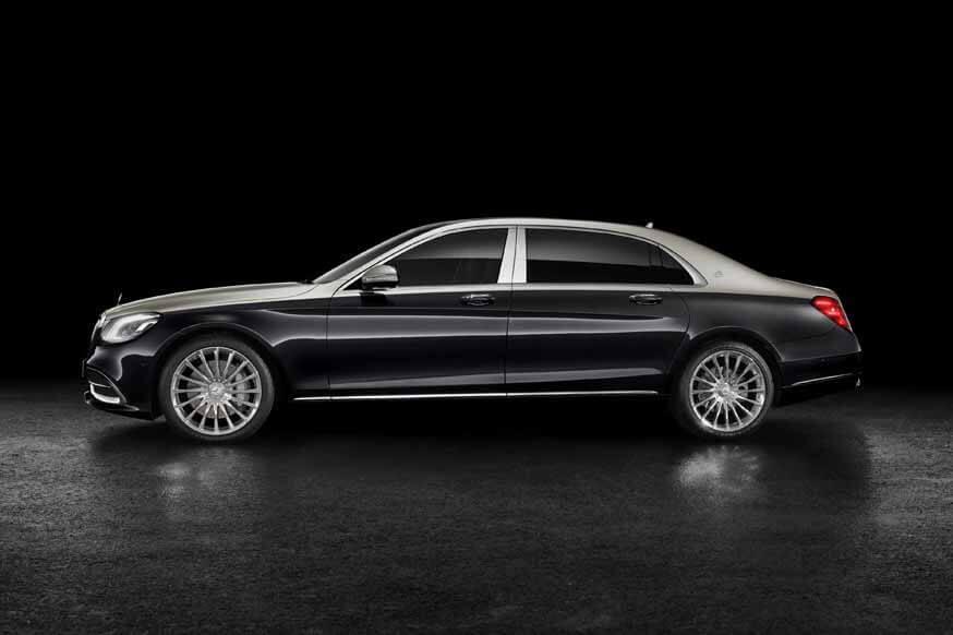 Mercedes-Benz покидает новый S-Class с его текущим двигателем V12 и тремя колесными базами