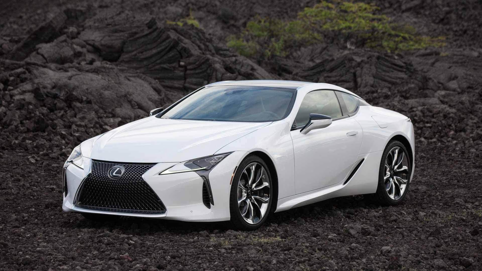 Lexus LC. Фото Lexus