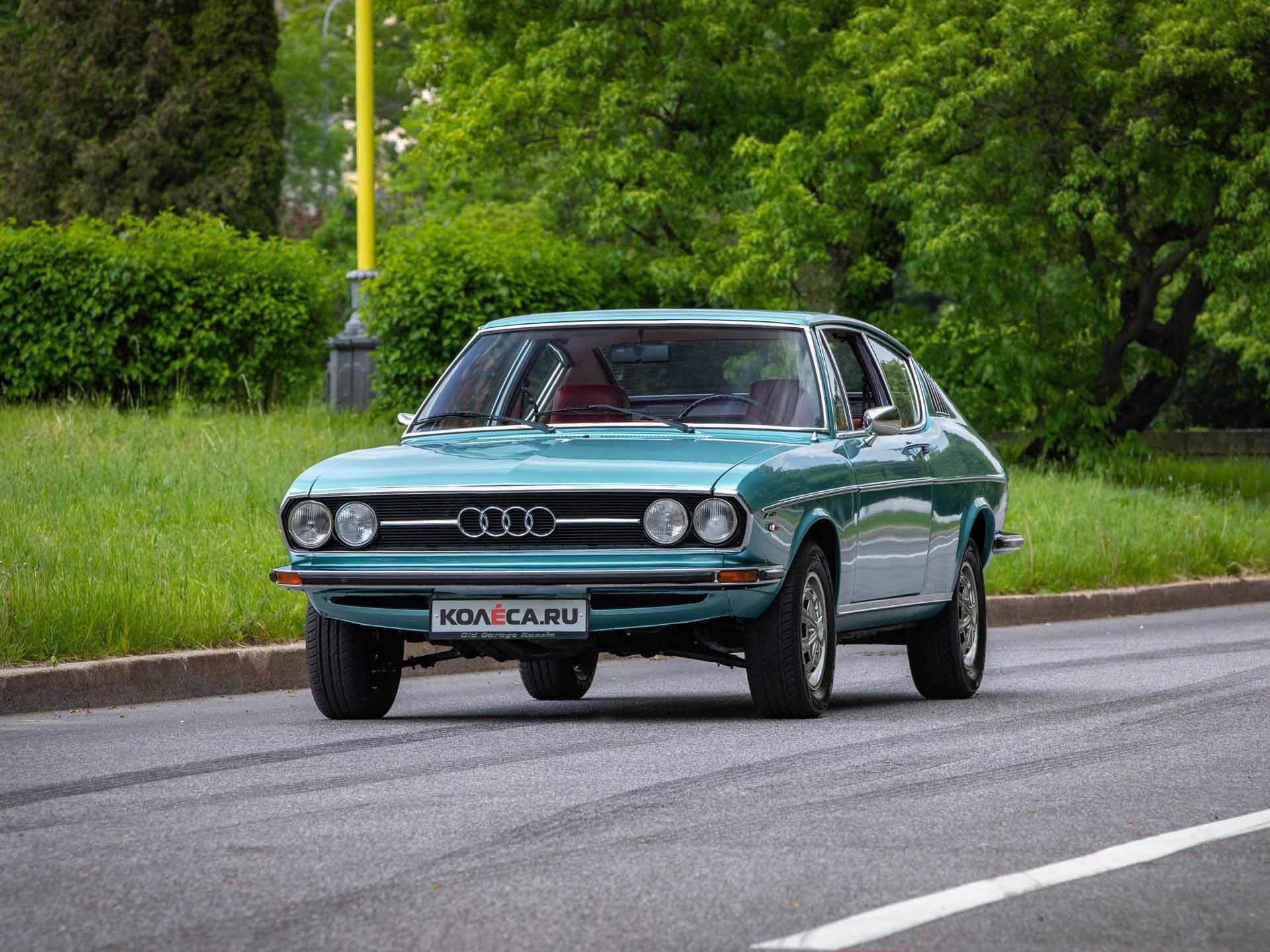 1974 Audi-100 Coupe S тест-драйв