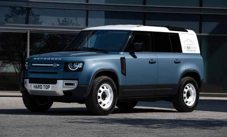 Land Rover выпустит новую версию внедорожника Defender