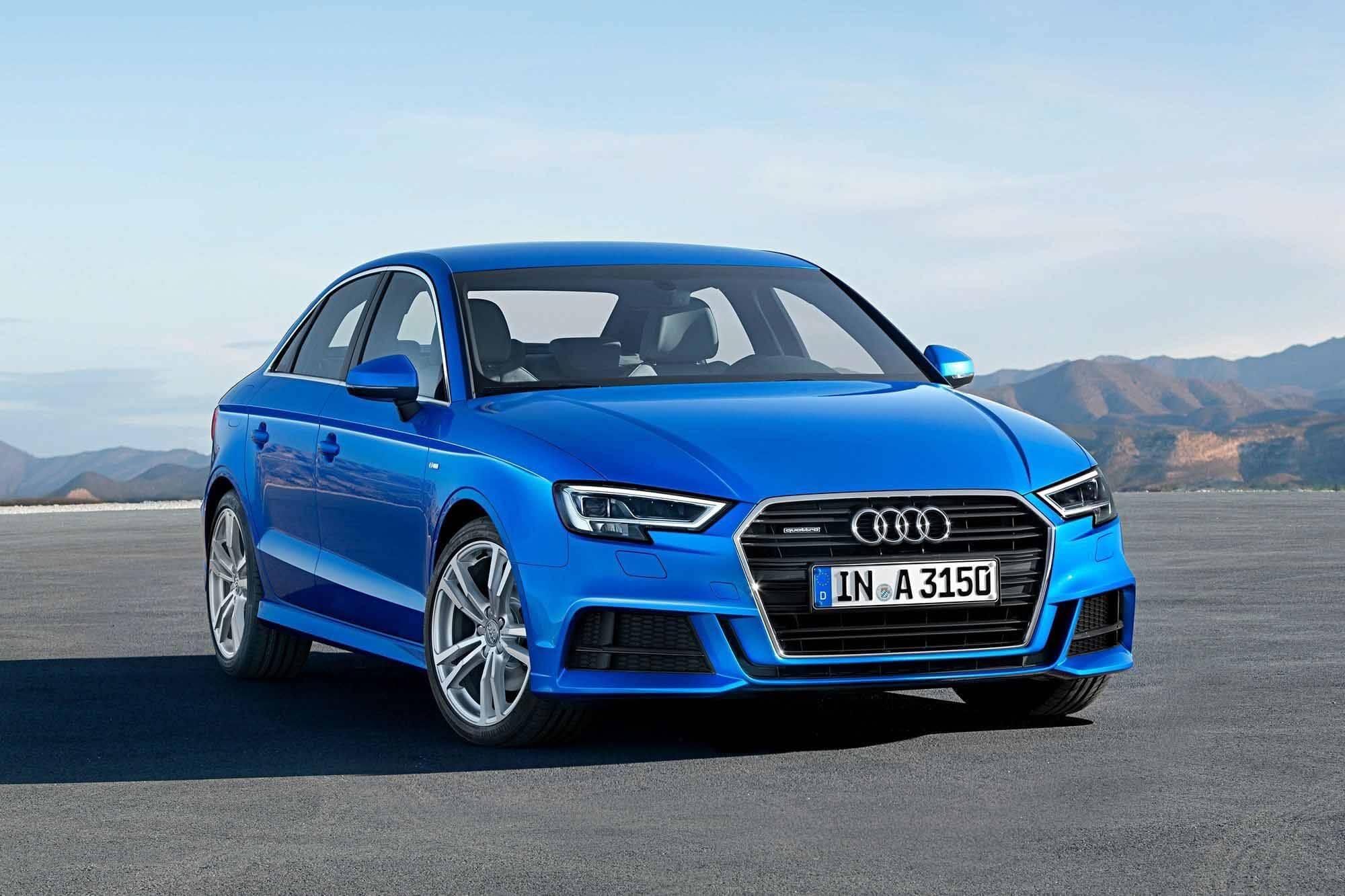 Их там нет: Audi вспоминает вводящих в заблуждение спасателей A3 и A6