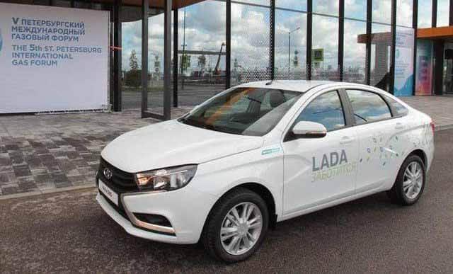 АвтоВАЗ поднял цены на двухтопливная Лада Веста