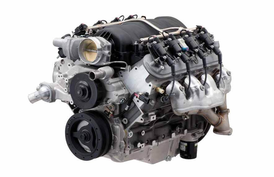 Chevrolet представила новый 7,0-литровый двигатель