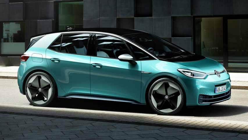 Электрокары Volkswagen ID.3 отправят в Европу в сентябре