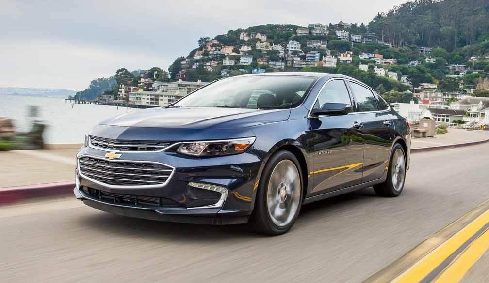 GM прекратит седан Chevrolet Malibu