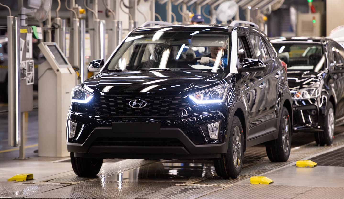 Hyundai Creta стал самым популярным кроссовером в России в мае