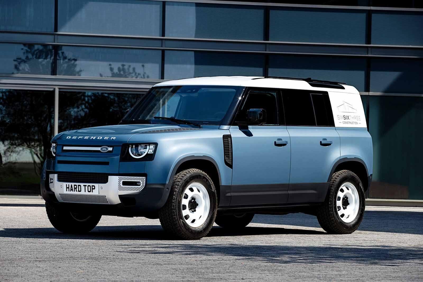 Элитный работник: новый защитник Land Rover превращается в универсал