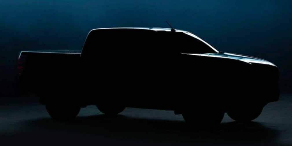Mazda показала тизер-образ нового пикапа Mazda BT-50