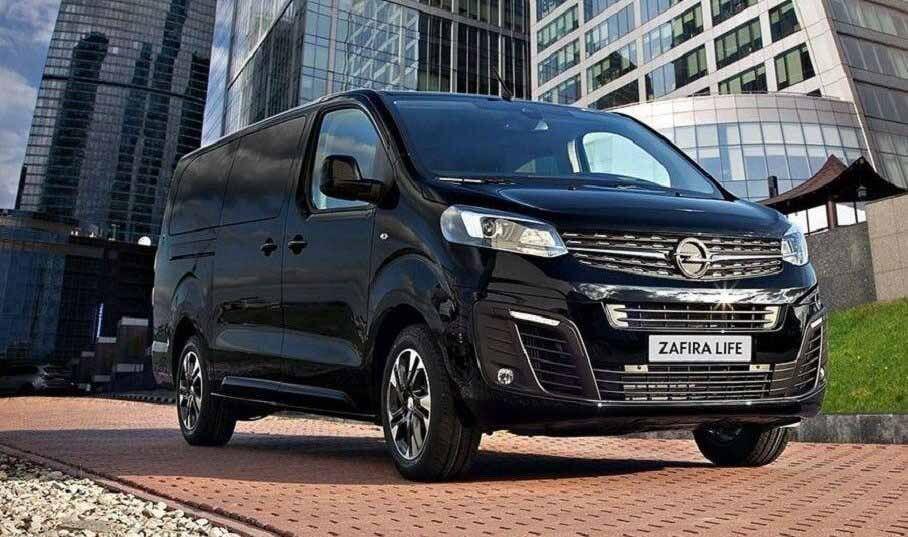 Микроавтобус Opel Zafira Life получил специальную версию в Российской Федерации