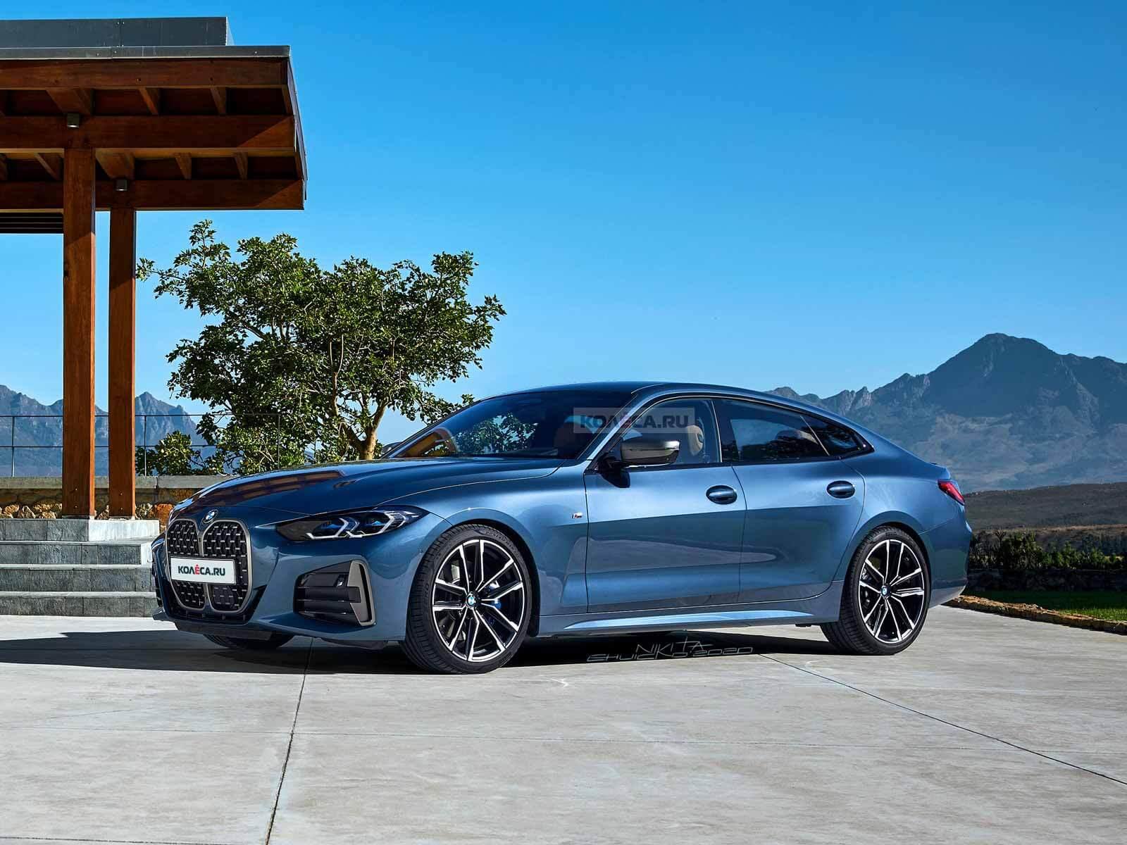 Новый BMW 4 серии Гран Купе 2021