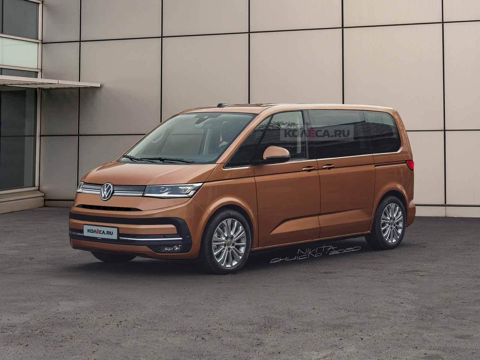 Новый Volkswagen Multivan T7 - Kolesa.ru - автомобильный журнал