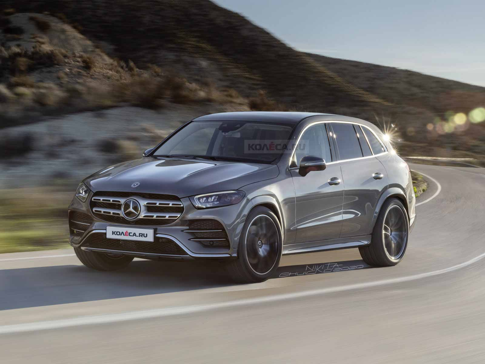 Новый Mercedes-Benz GLC 2022 - Kolesa.ru - автомобильный журнал
