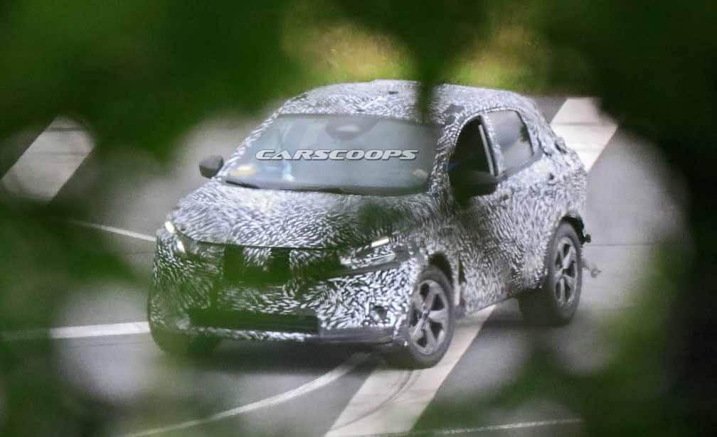 Новый Nissan Qashqai. Фото Carscoops.com