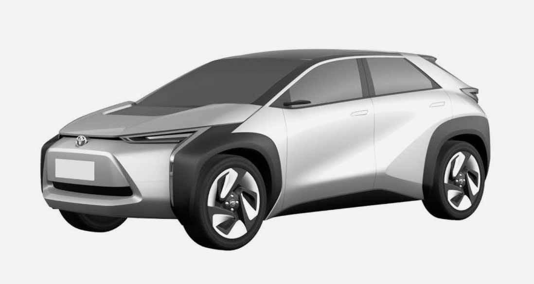 Новый кроссовер Toyota. Фото патентное ведомство КНР