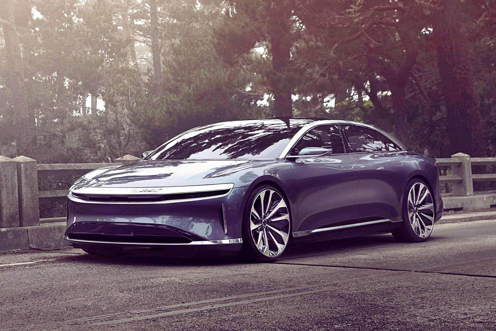 Серийный Lucid Air будет показан только в сентябре, и он уже потерял Tesla Model S