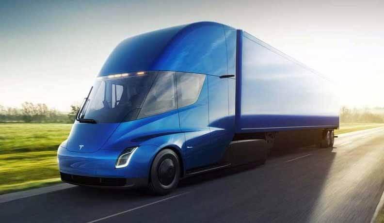 Tesla Semi. Фото Tesla