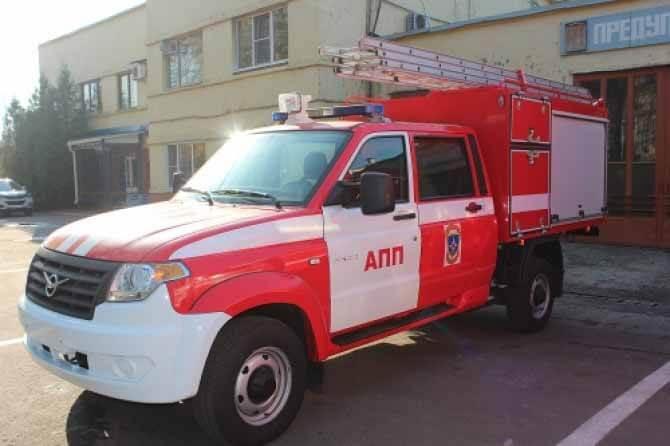 УАЗ «Профи» получил новую специальную версию для пожарной службы