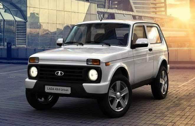Внедорожник Lada 4x4 покидает Европу