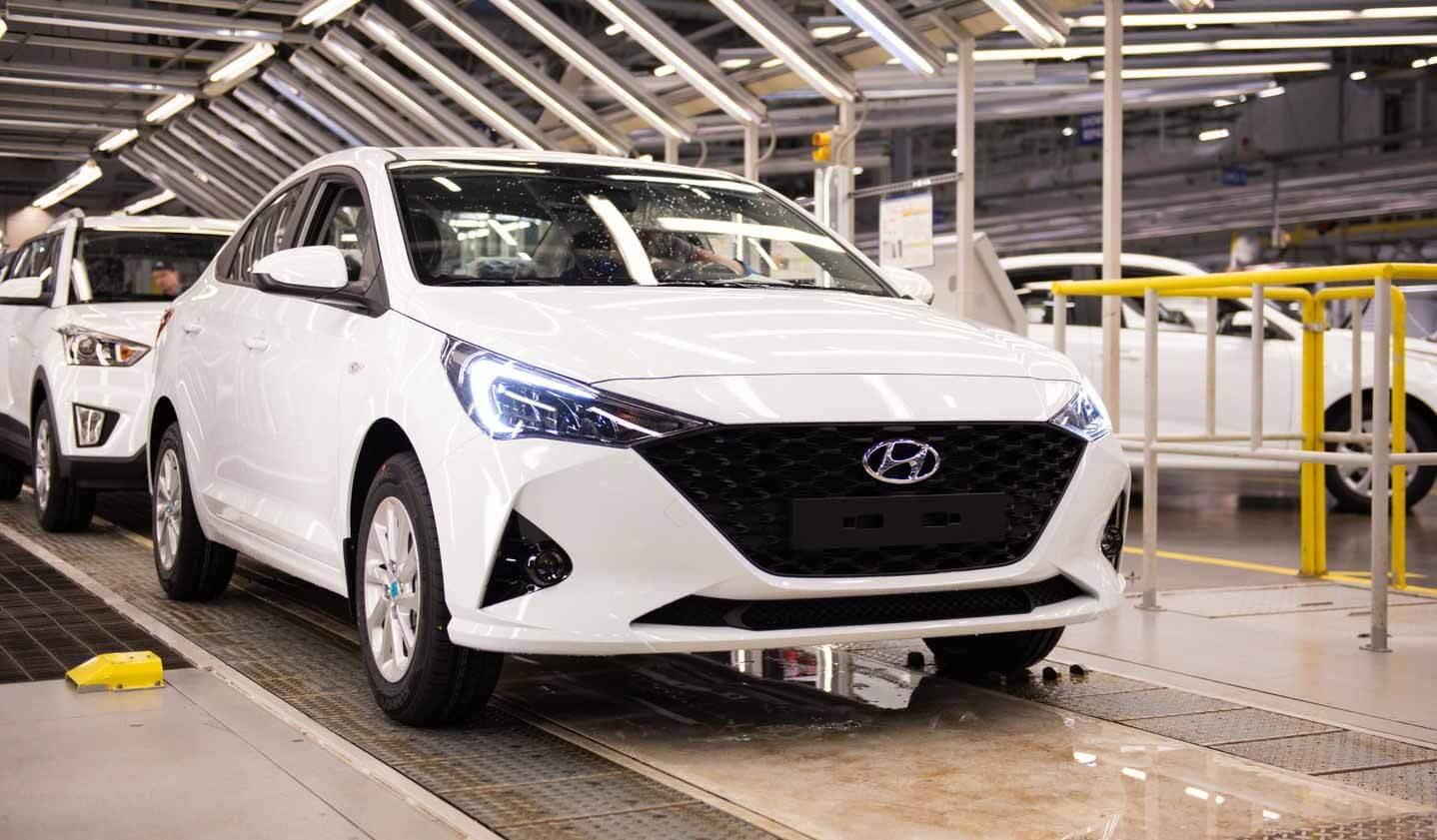 Завод Hyundai в Санкт-Петербурге продолжит работу в две смены
