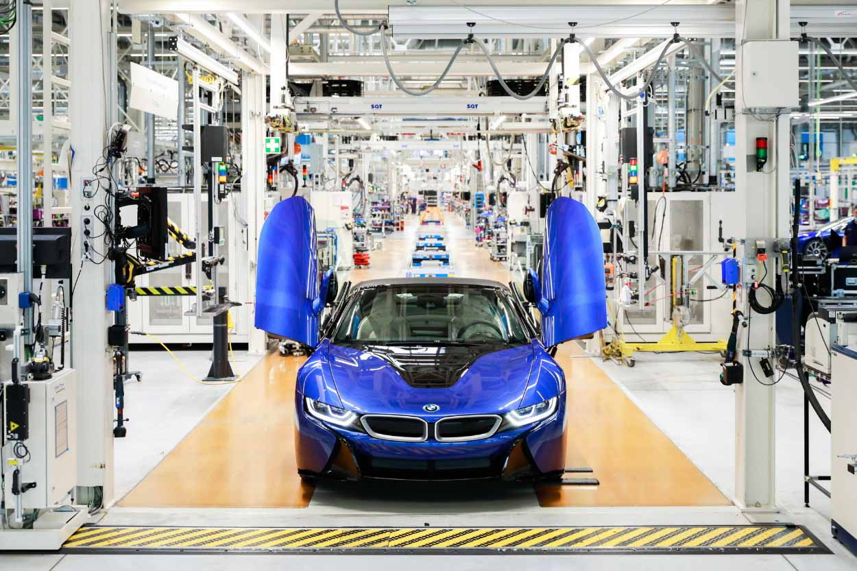 Последний BMW i8