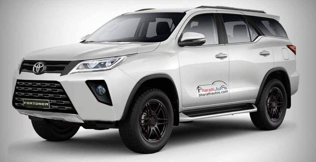 Да, это новая Toyota Fortuner 2021!  Представлены внедорожники
