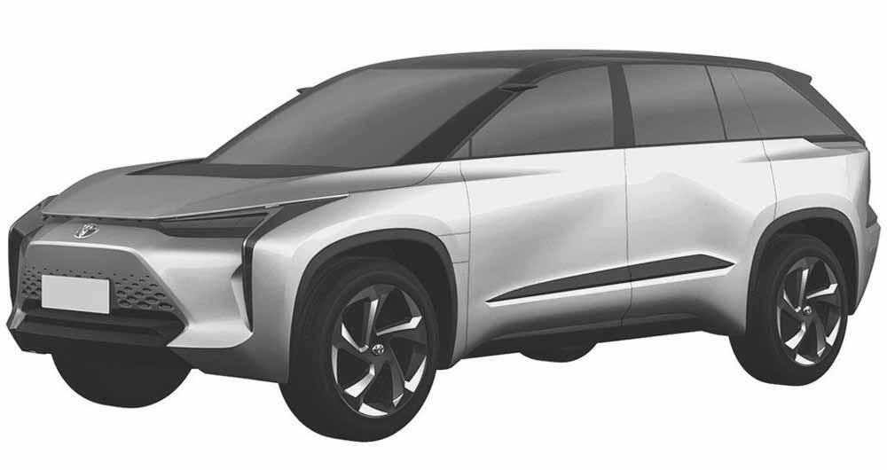 Toyota электрический кроссовер