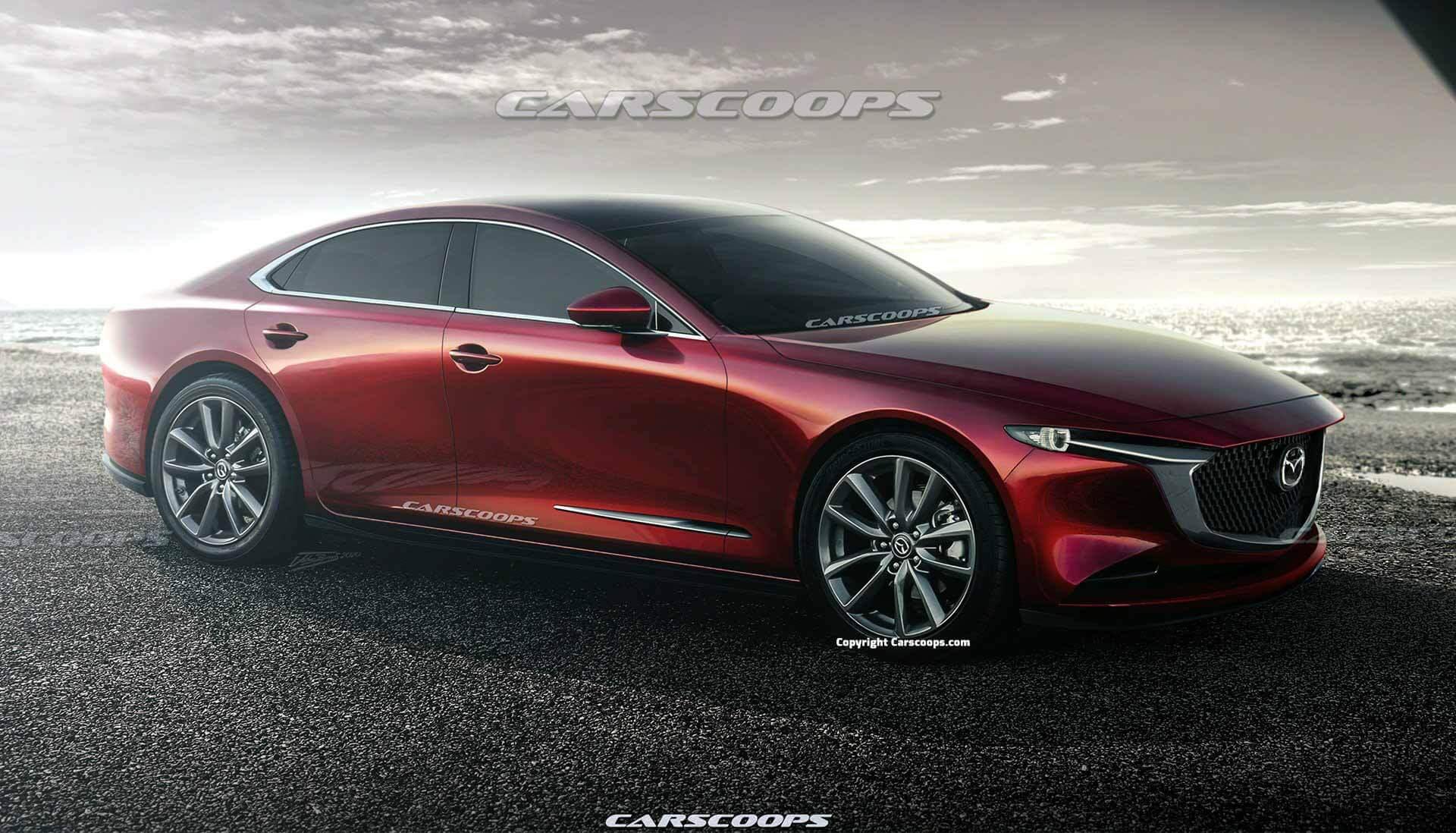 Представлена Mazda 6 следующего поколения