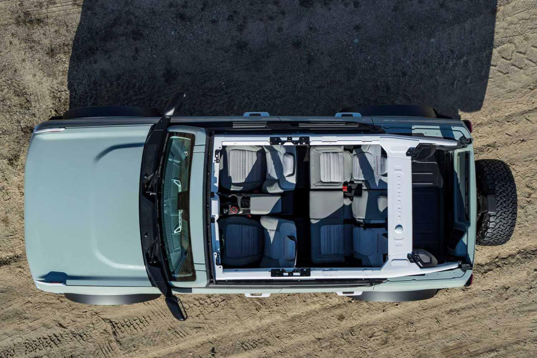 Внедорожник Ford Bronco 2021