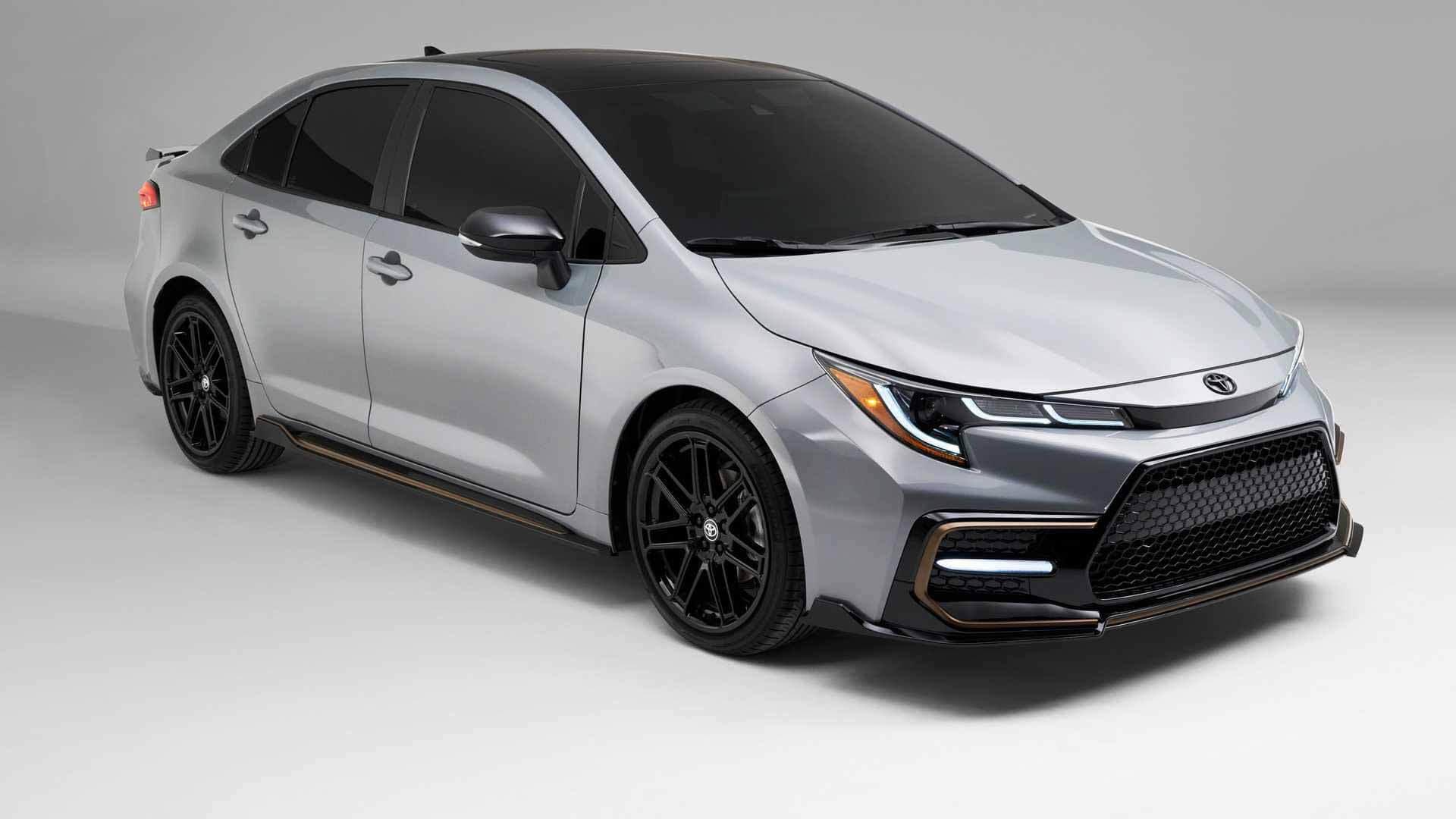 Toyota Corolla 2021 получила спортивный пакет Apex Edition для США