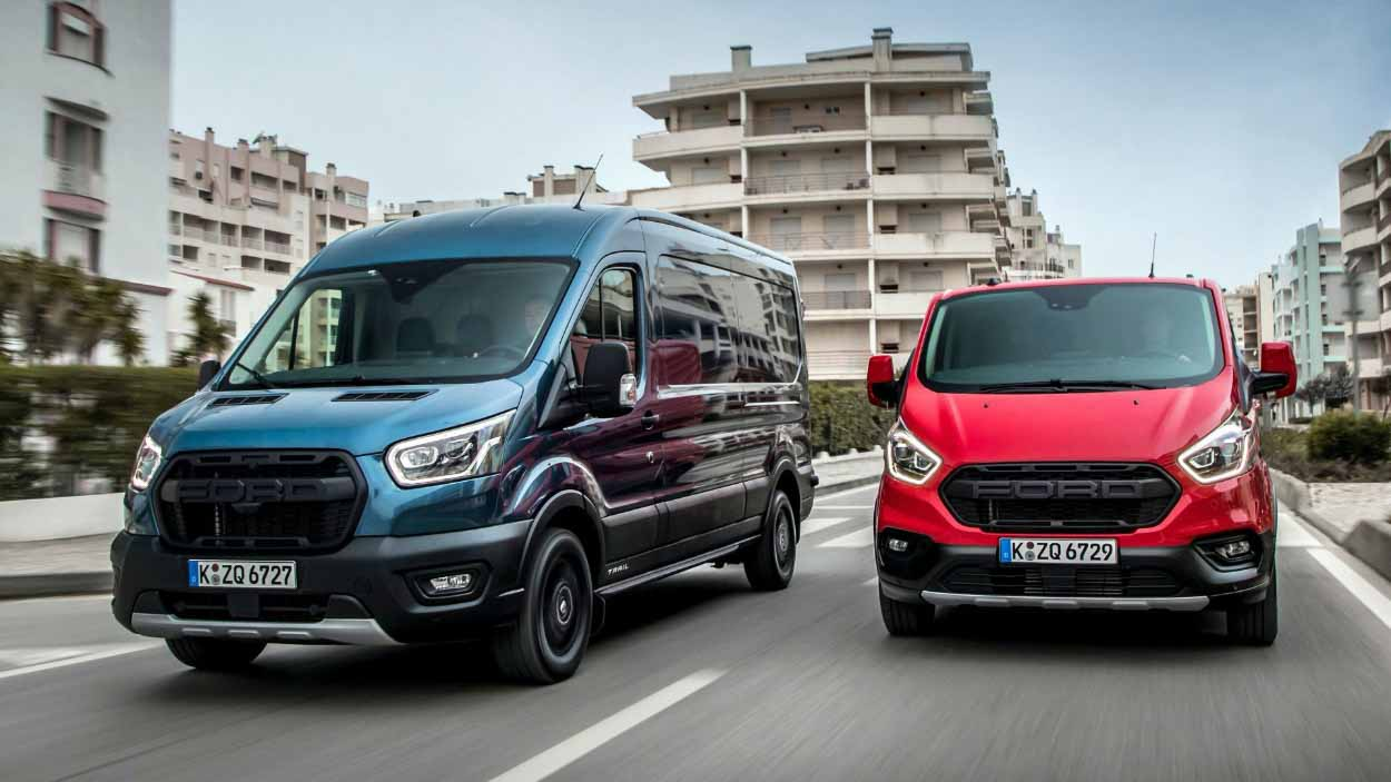 Фургоны Ford стали брутальнее в новой версии