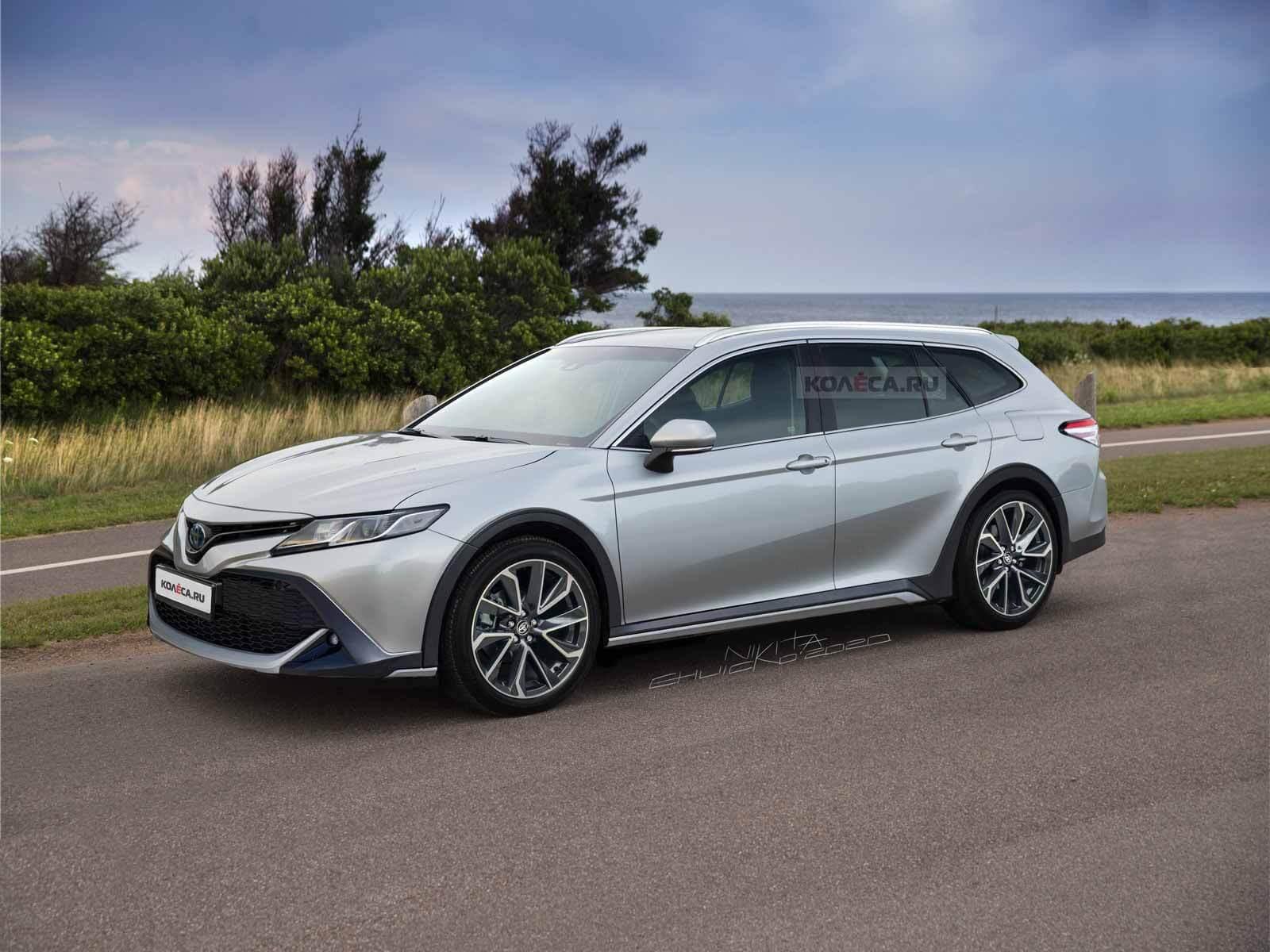 Новая универсальная Toyota Camry - KOLESA.ru - автомобильный журнал