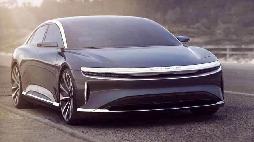 Осознанные воздуха рассчитывает свергнуть Тесла Модель S и Porsche Taycan с невероятной аэродинамикой