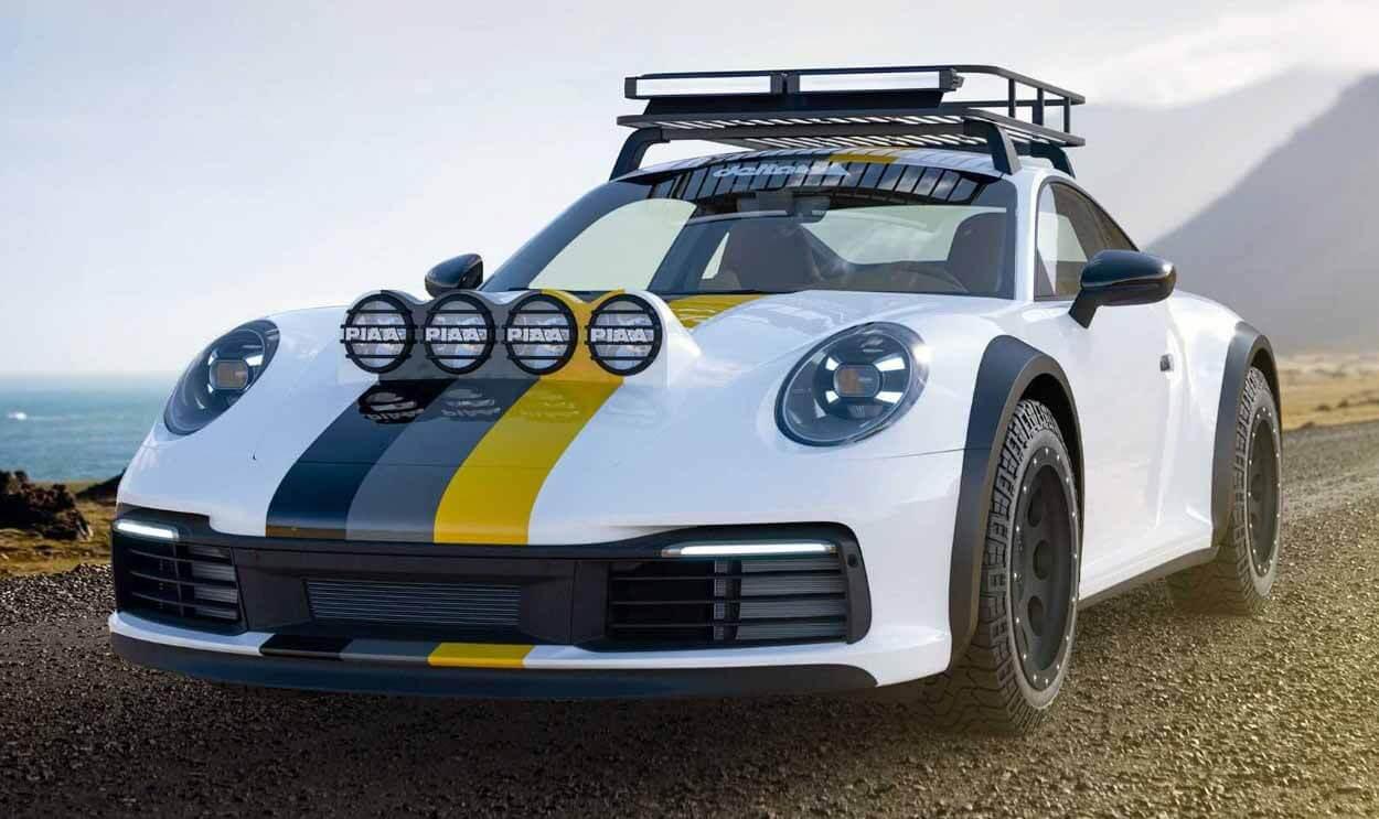 Внедорожник на базе Porsche 911