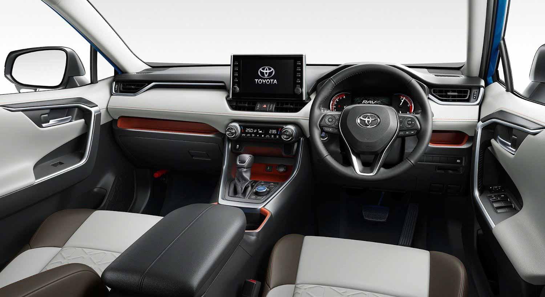 Toyota Rav4 2021 года